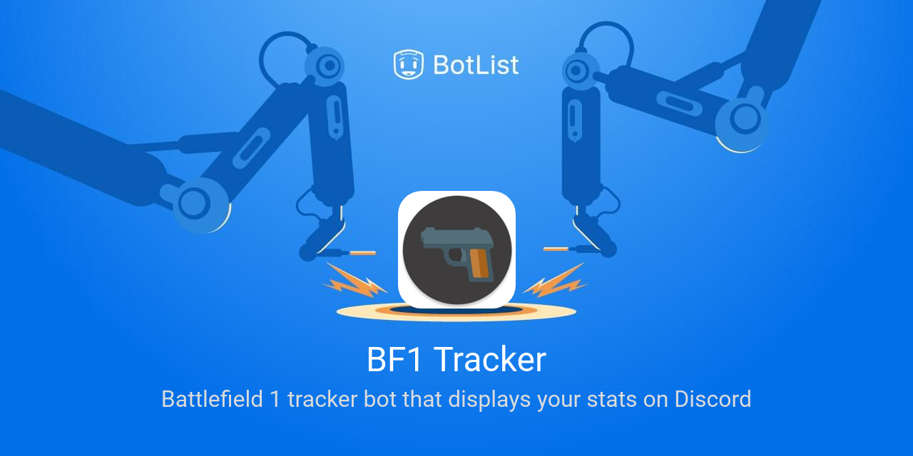 BF1 Tracker Bot on Discord chatbot on BotList