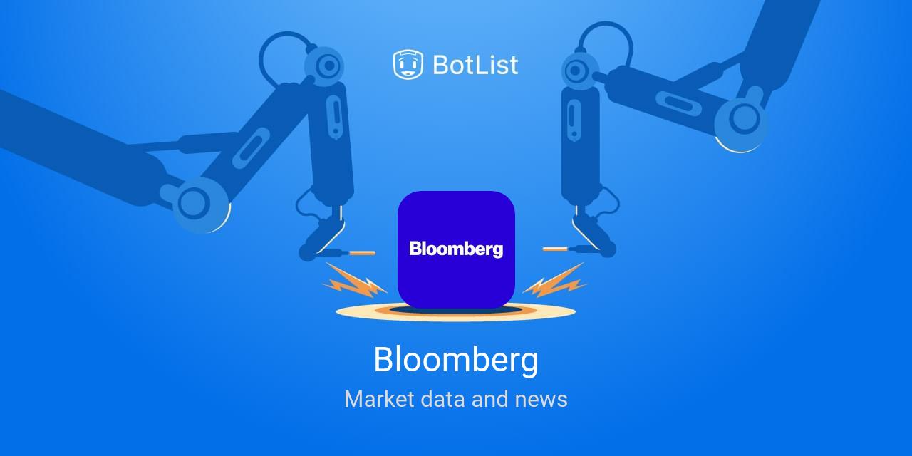 Bloomberg Bot on Amazon Echo chatbot on BotList