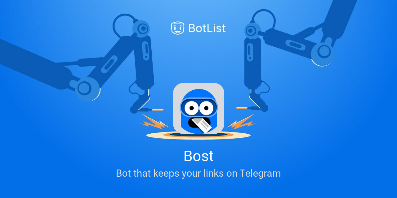 Bost Bot on Telegram chatbot on BotList
