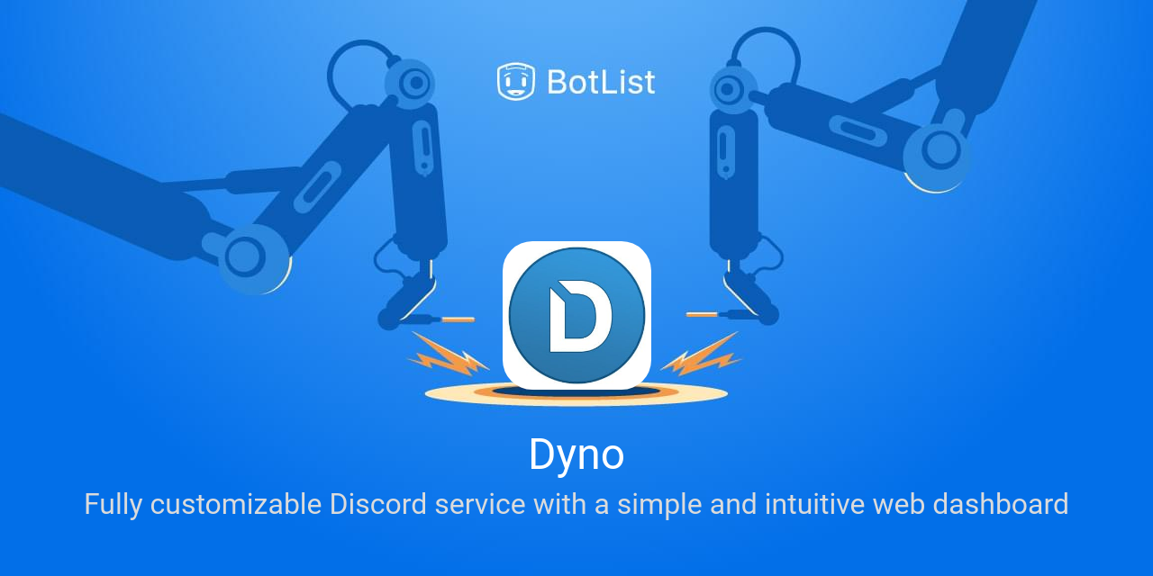Dyno Bot on Discord chatbot on BotList