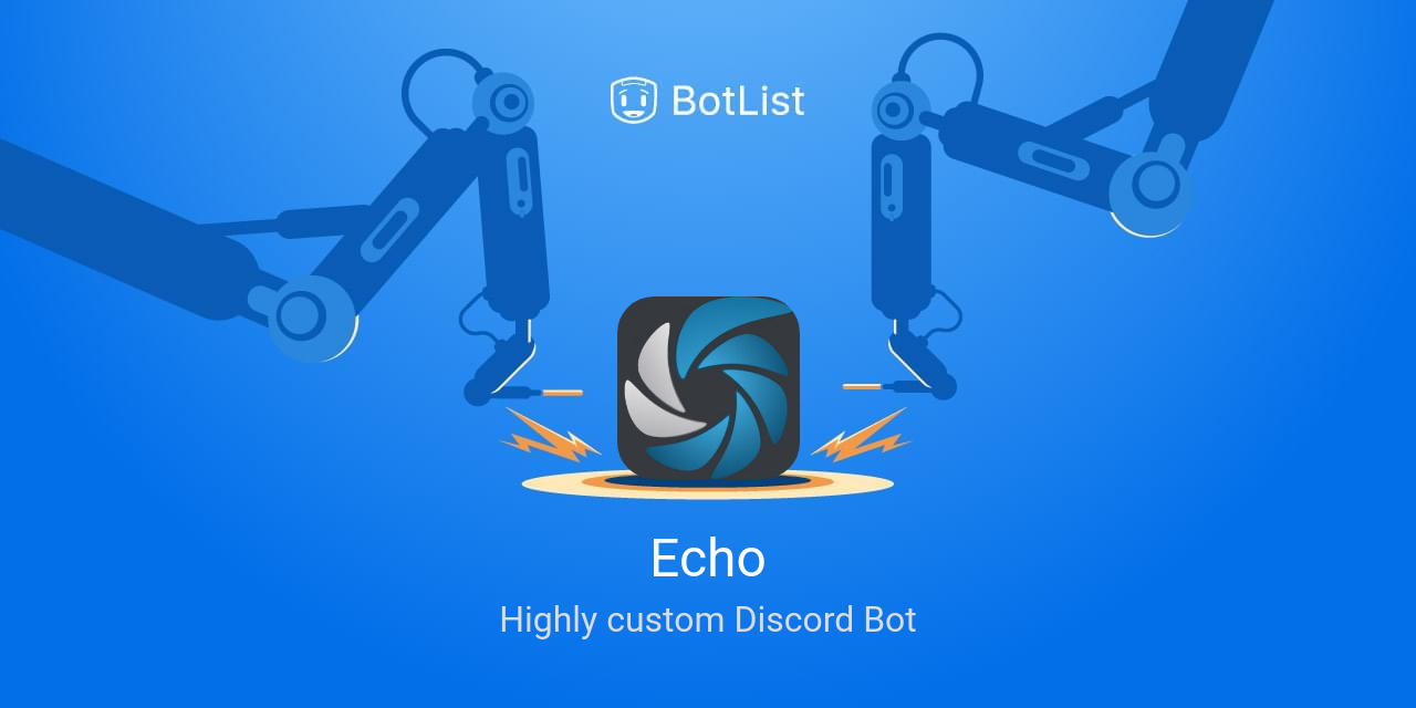 Echo Bot on Discord chatbot on BotList