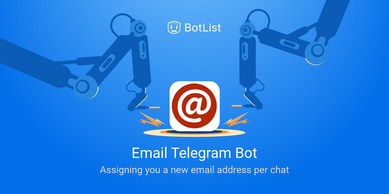 Email Telegram Bot Bot on Telegram chatbot on BotList