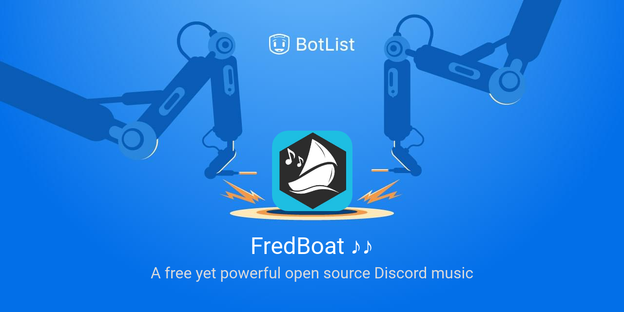 FredBoat ♪♪ Bot on Discord chatbot on BotList