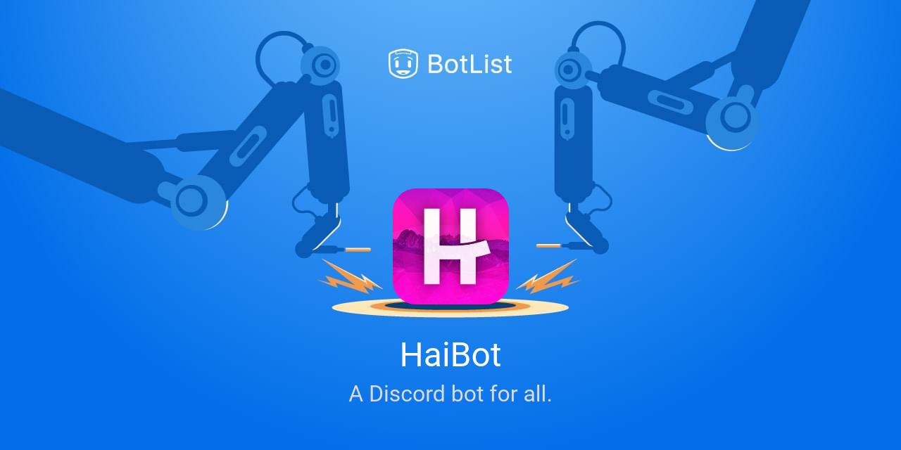 HaiBot Bot on Discord chatbot on BotList
