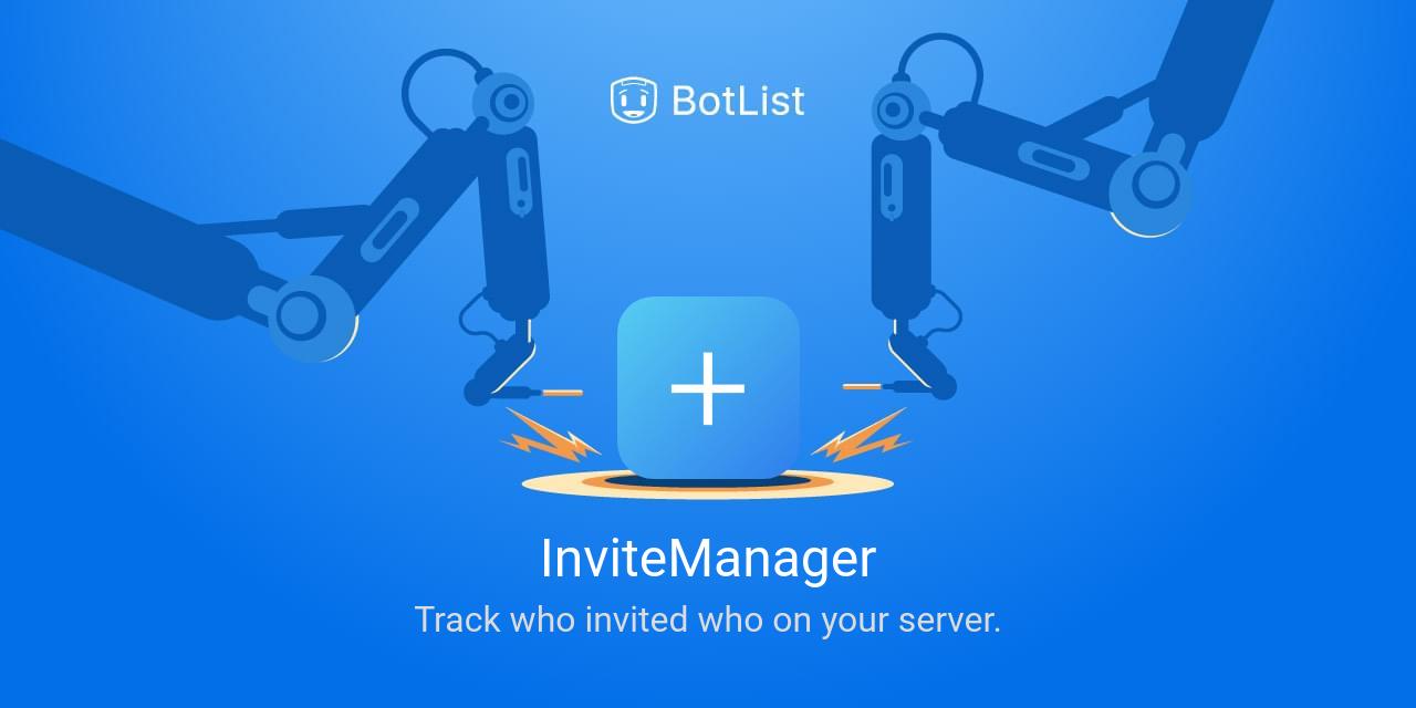 InviteManager Bot on Discord chatbot on BotList