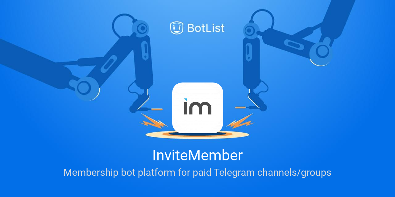 InviteMember Bot on Telegram chatbot on BotList