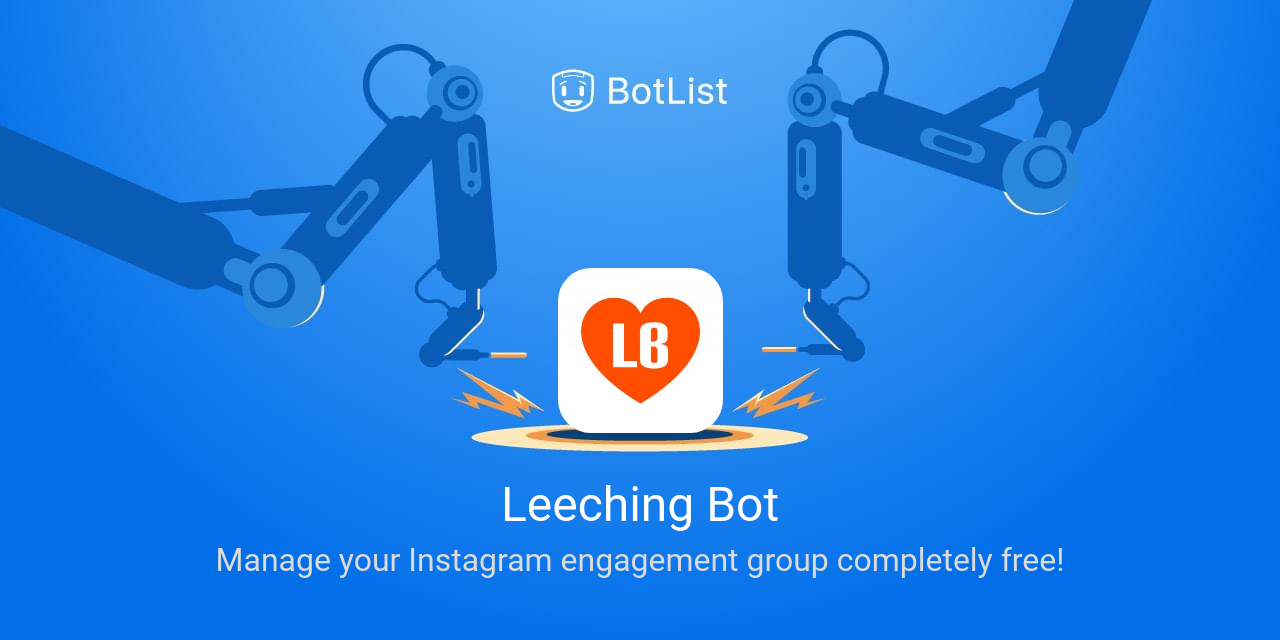 Leeching Bot Bot on Telegram chatbot on BotList