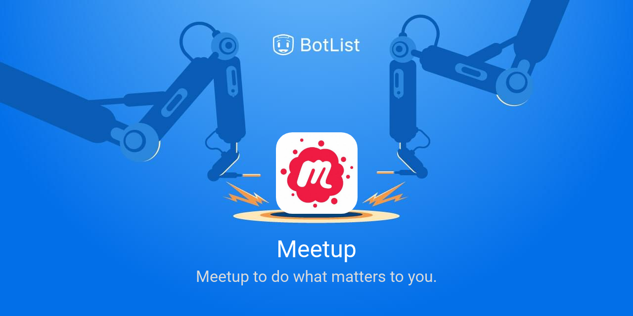 Meetup Bot on Amazon Echo chatbot on BotList