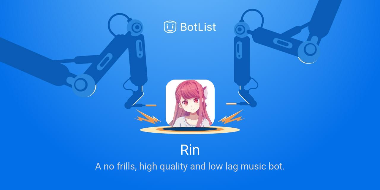 Rin Bot on Discord chatbot on BotList