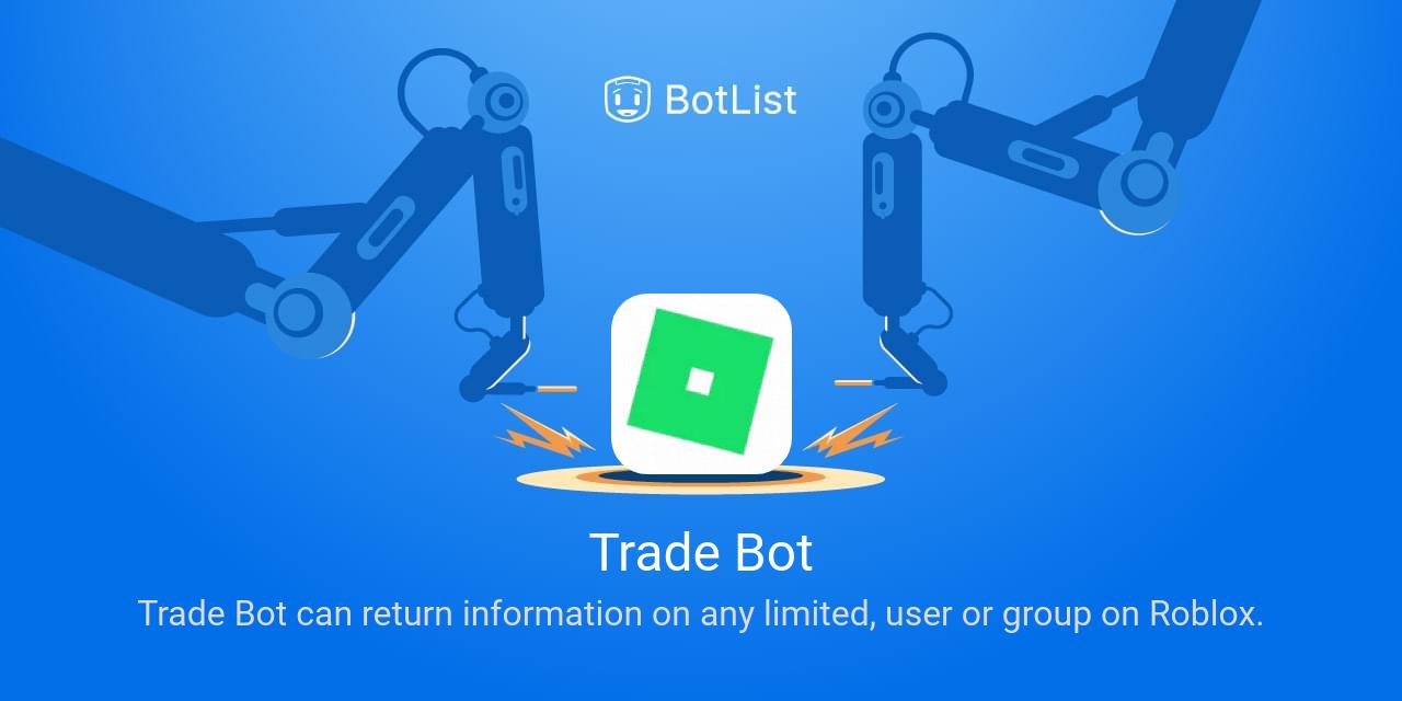 Trade Bot Bot on Discord chatbot on BotList