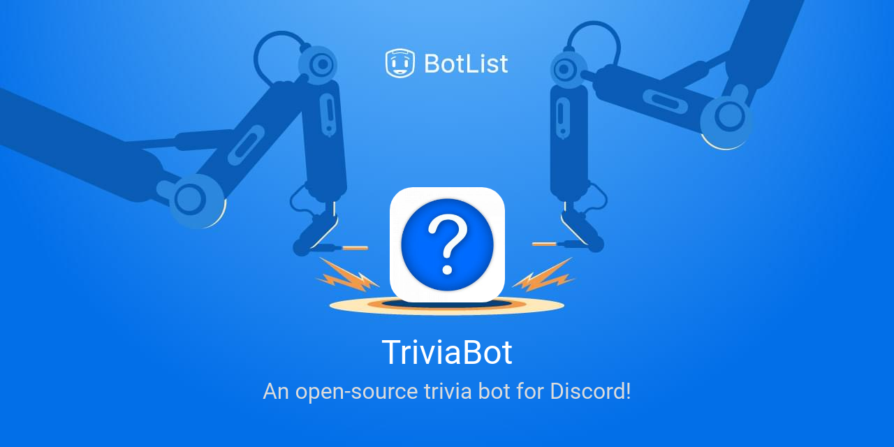 TriviaBot Bot on Discord chatbot on BotList