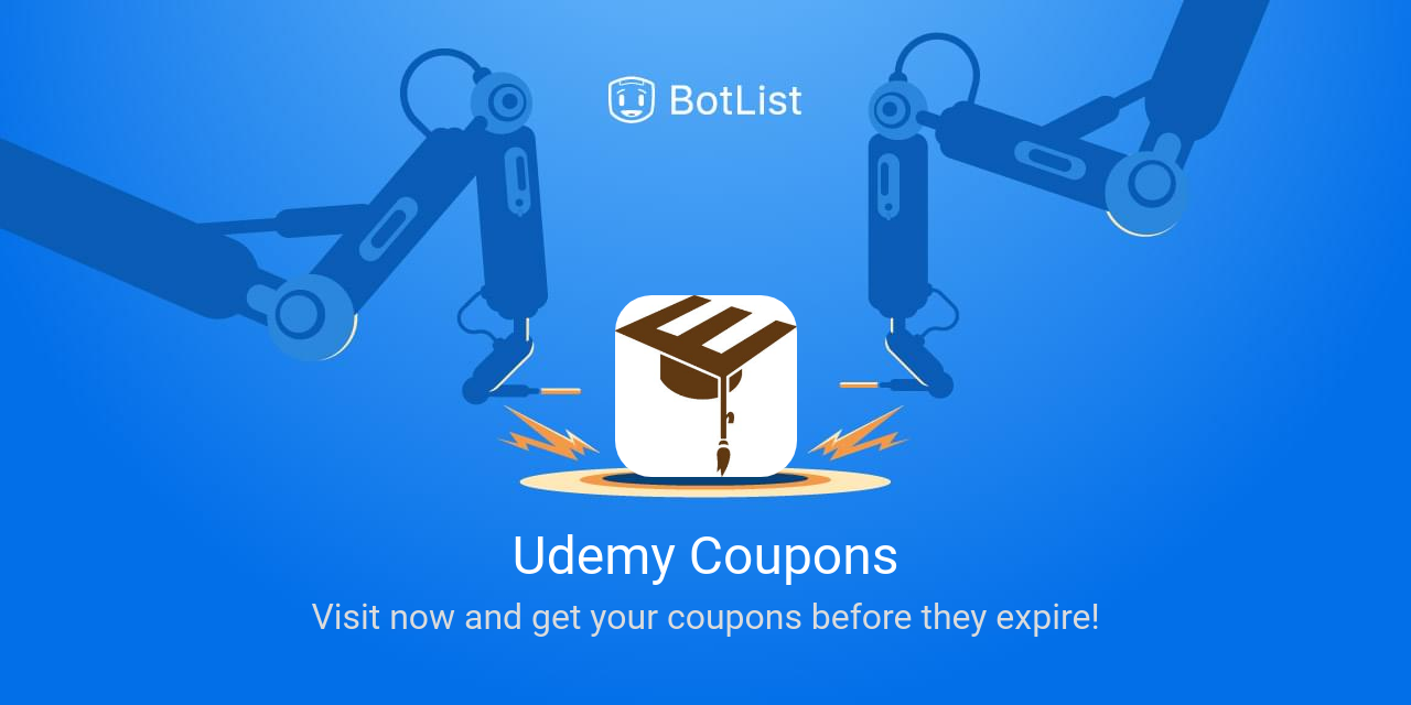 Udemy Coupons Bot on Messenger chatbot on BotList