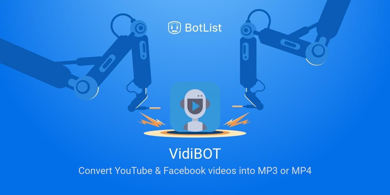 VidiBOT Bot on Messenger chatbot on BotList