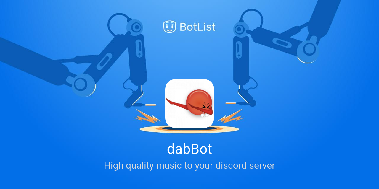 dabBot Bot on Discord chatbot on BotList