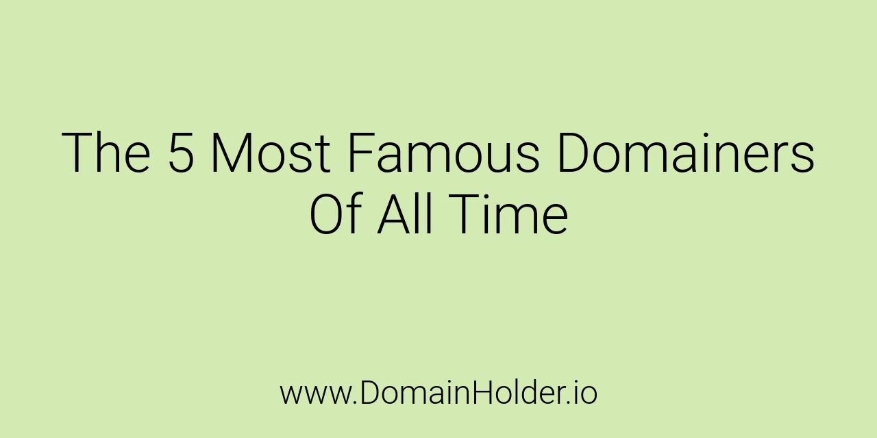 DomainHolder Blog