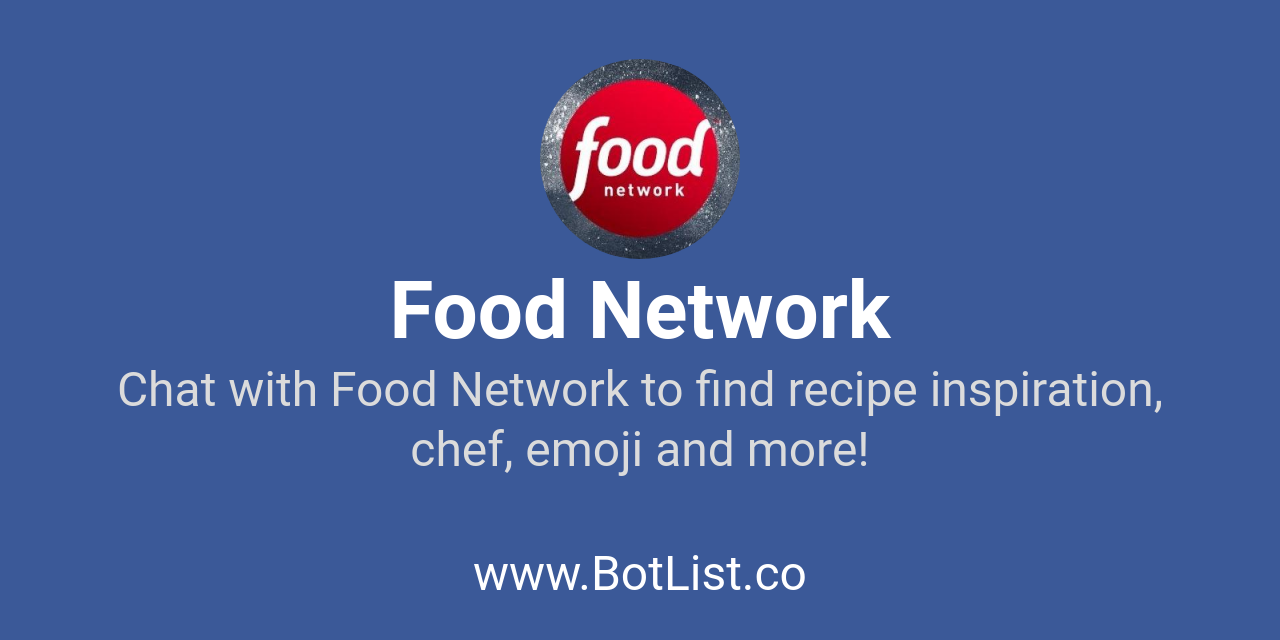 Food network bot on messenger amazon echo chatbot on botlist botlist forumfinder Choice Image